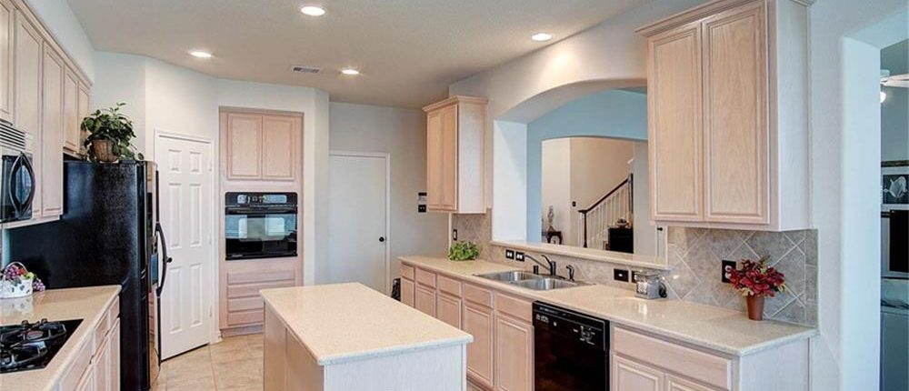 Kitchen Interior Paint Job in Richmond, TX