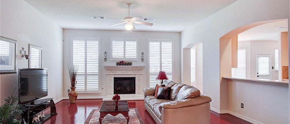 Living Room Interior Paint Job in Cypress, TX