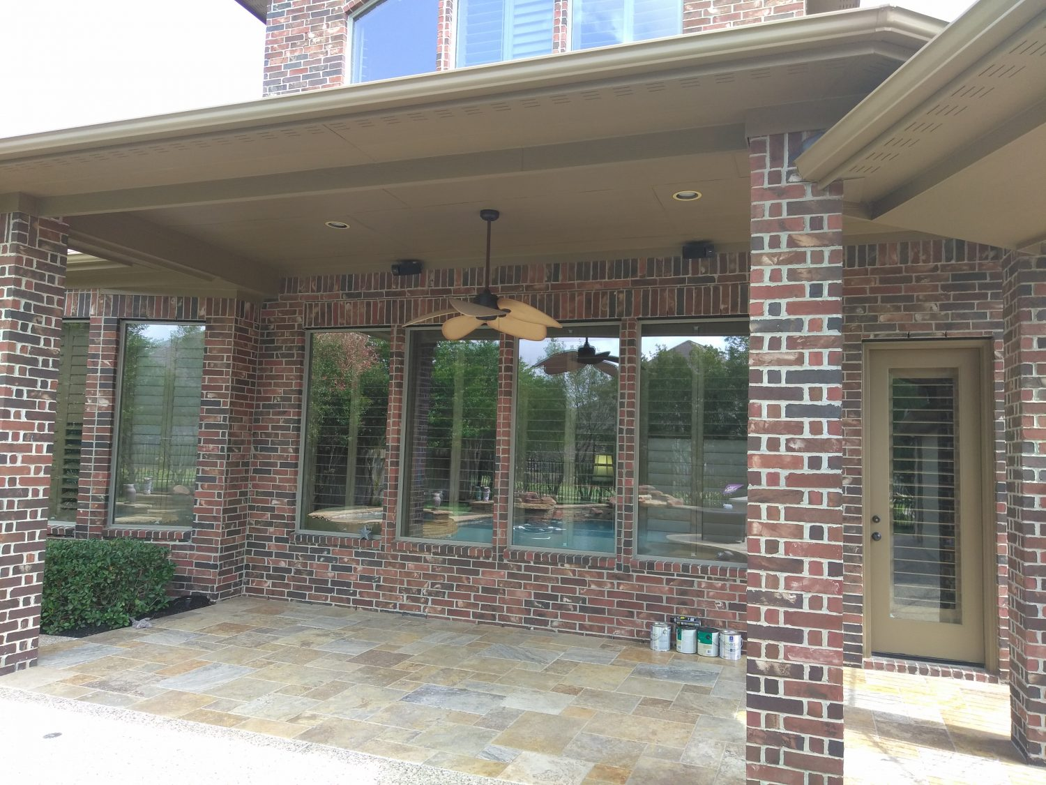 Exterior Complete Repaint of Residence in Cypress, TX