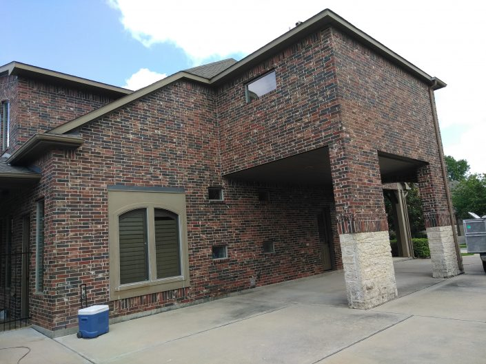 Cypress, TX Residence Before a Complete Residential Repaint