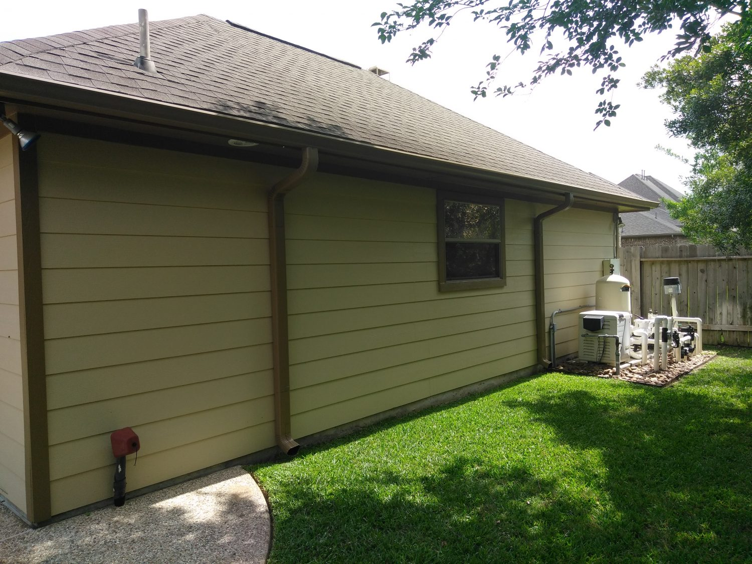 Paint Job on Complete Residential Exterior of Home in Cypress, TX