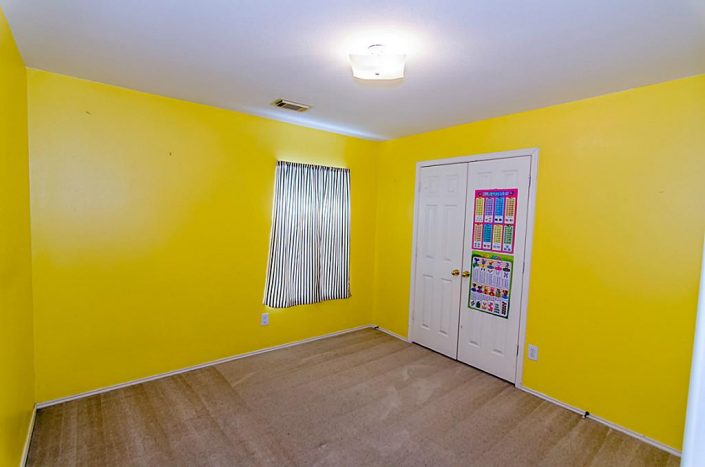 Interior Repaint and Baseboard Remodel of Bedroom of Richmond, TX Home