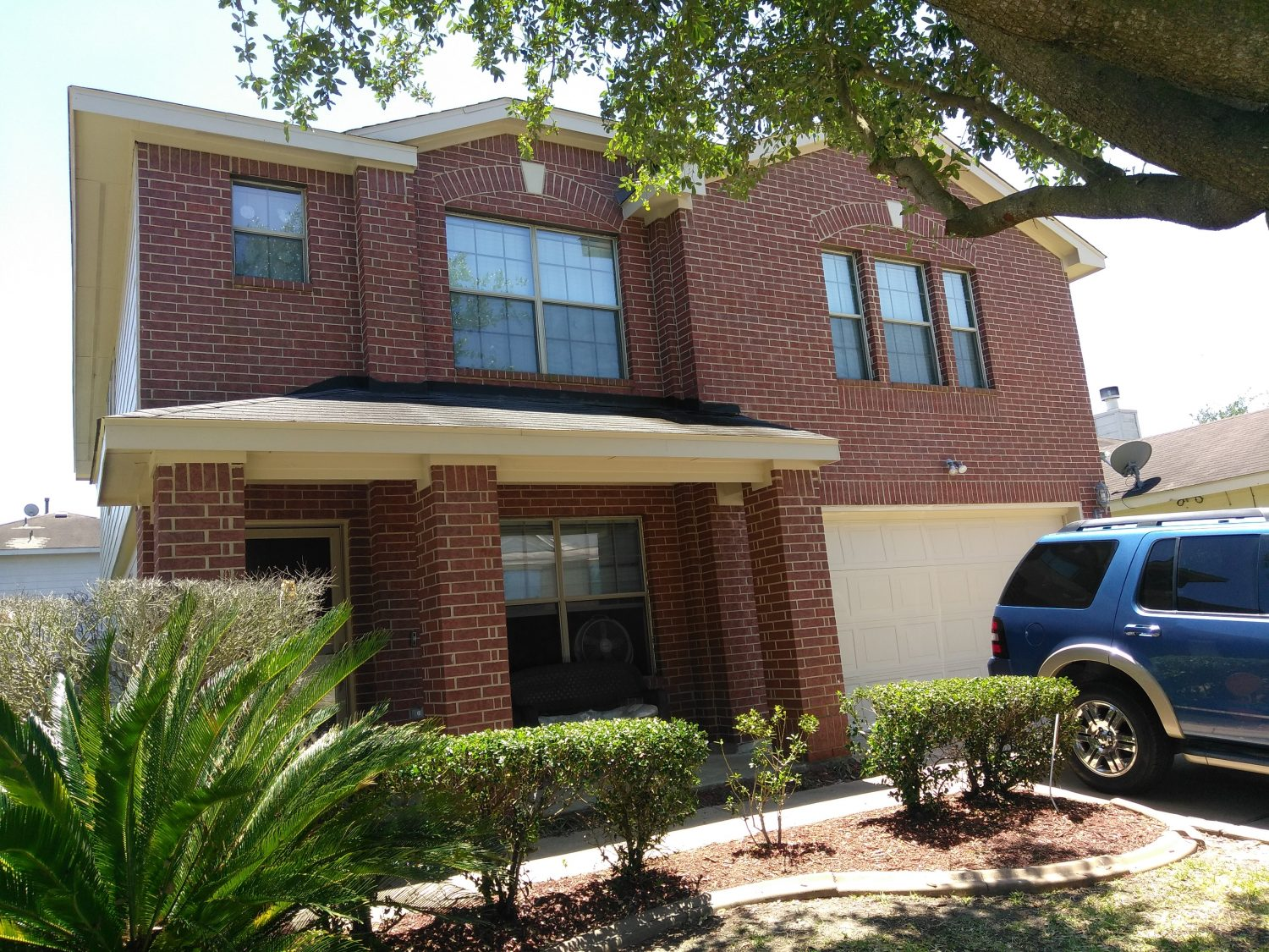 Exterior Paint and Remodel of Home in North Katy, TX