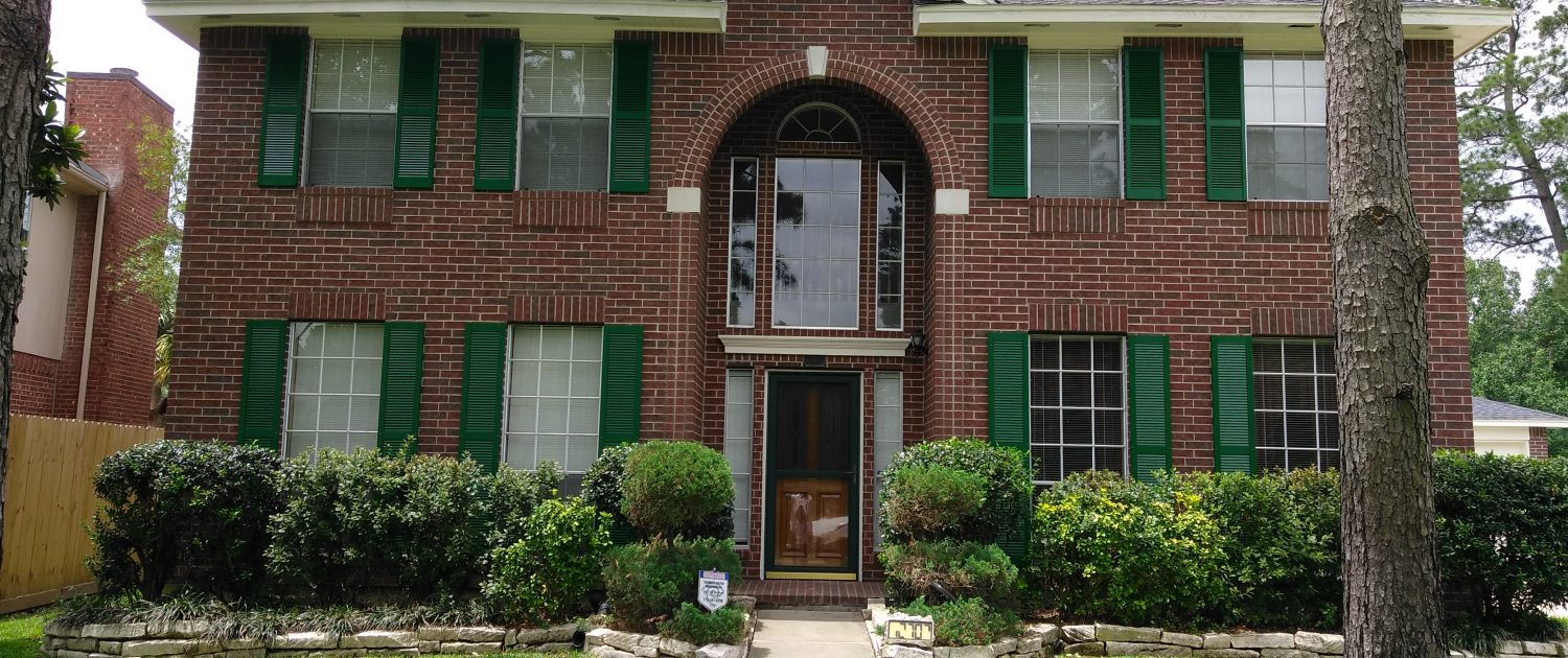 Complete Exterior Repaint, Repair and Remodel of Residence in Tomball, TX